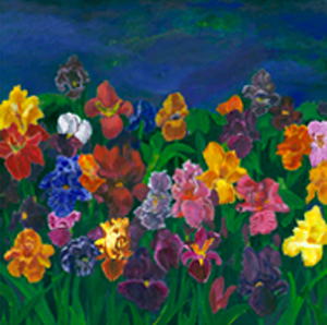 Night of the Irises